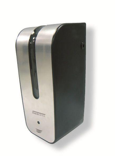 Metal Dispenser Soap Dish Toothbrush Holder Bathroom: 0.8L Stainless-Steel Satin AUTOMATIC Bulk